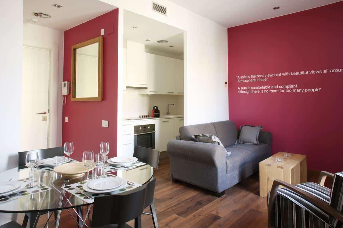 Mh apartments suites appartamenti in affitto a passeig for Appartamenti barcellona affitto economici