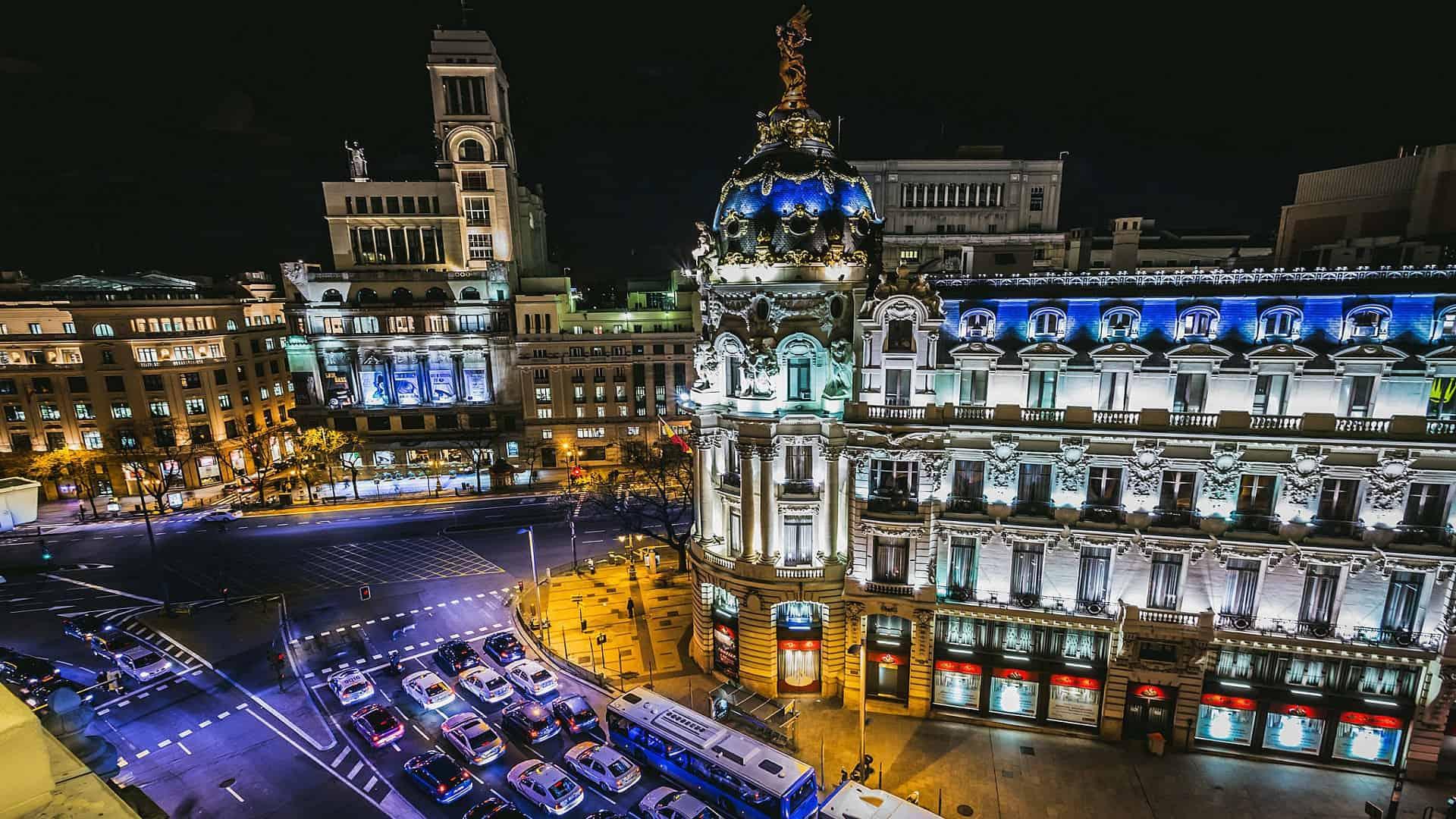 Madrid - Lange Aufenthalte